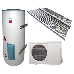 ecosun solar water heater with heat pump