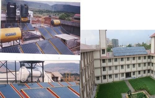 ecosun FPC commercial solar water heater