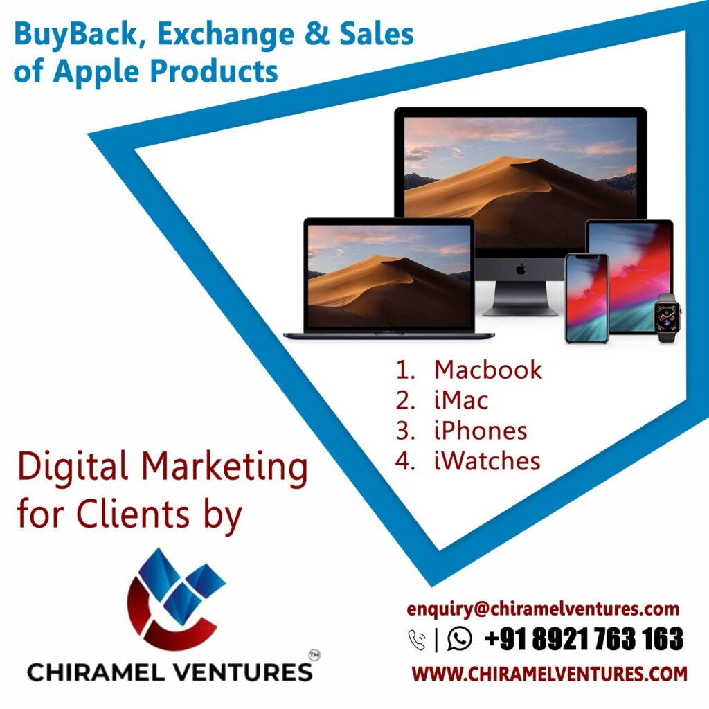 Digital Marketing For Clients (Apple Products)
