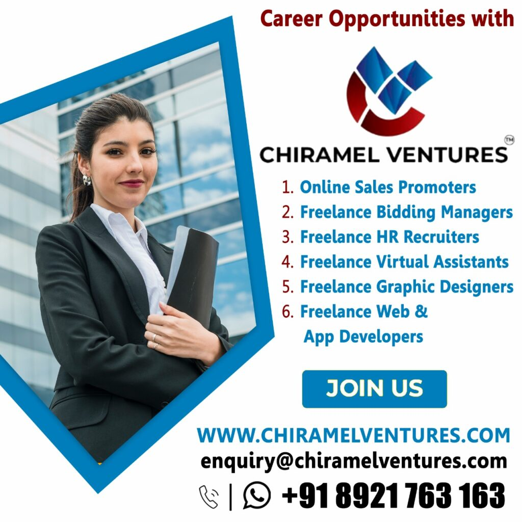 Career Opportunities with Chiramel Ventures