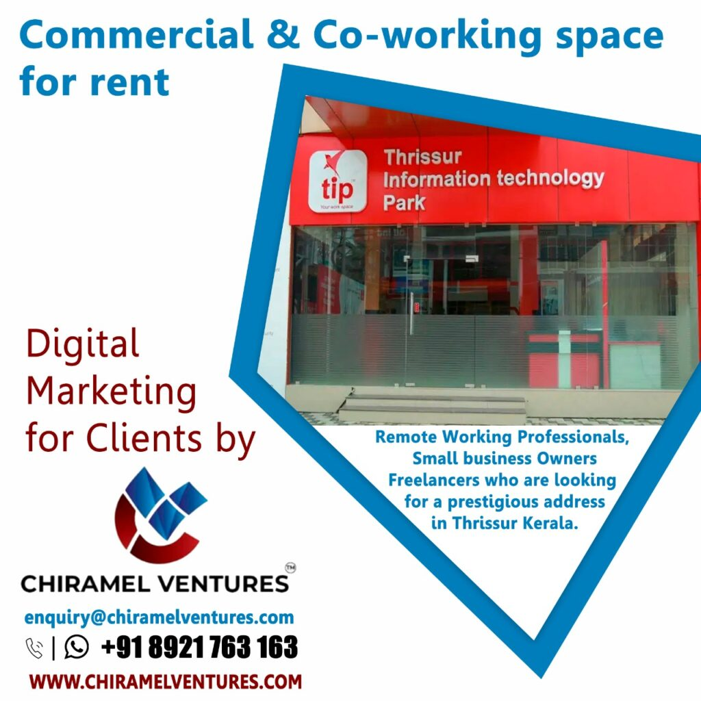 Digital Marketing For Clients ( Commercial Space, Co Working Space)