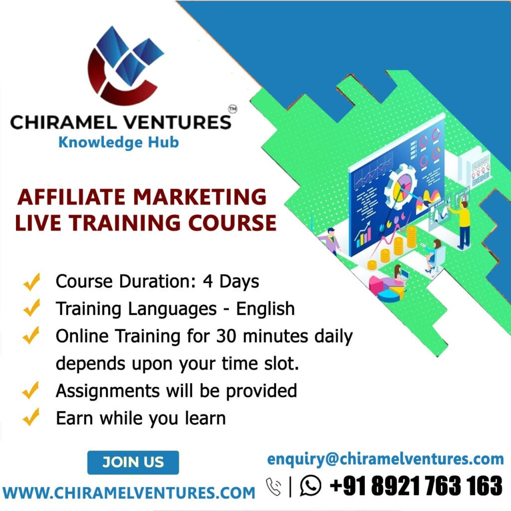 Affiliate Marketing Live Training Course