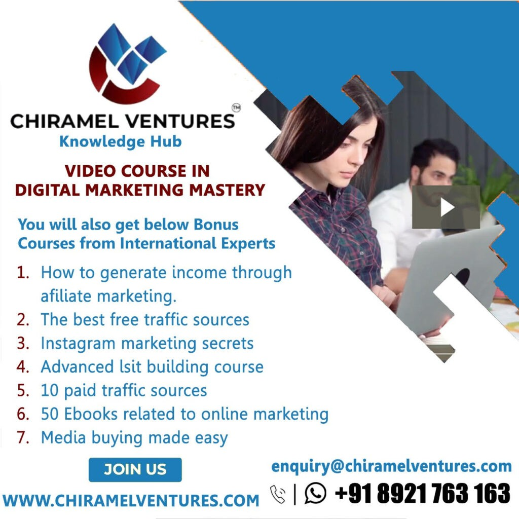 Video Course - Digital Marketing Mastery