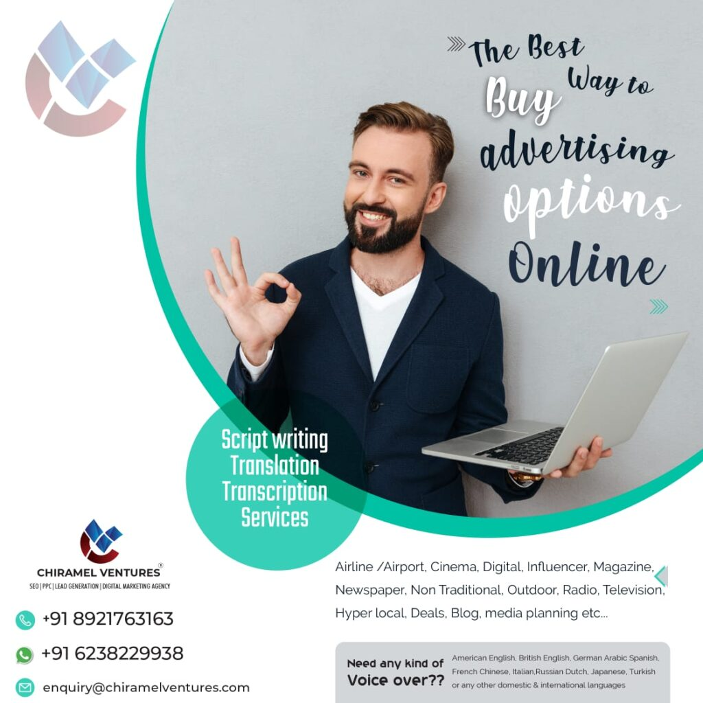 Online Advertising Options