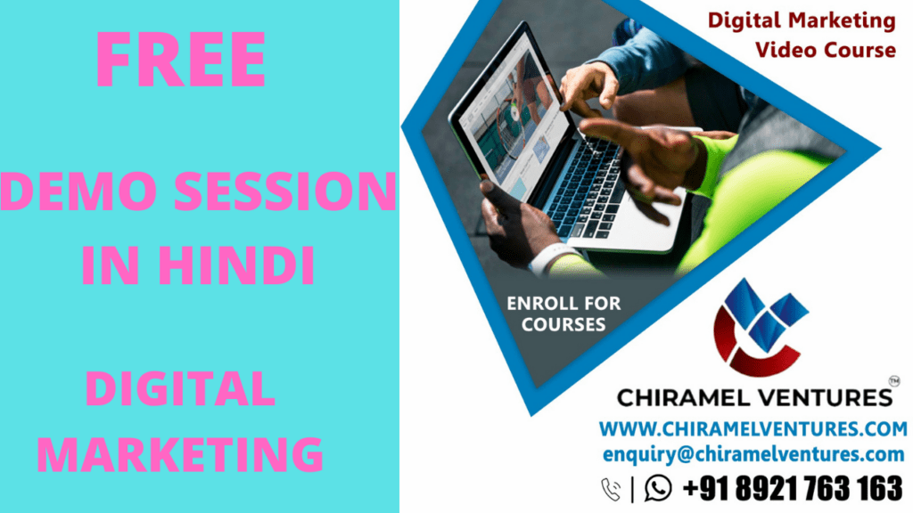 Digital Marketing Online Training 2020 - Free Demo Session in HINDI