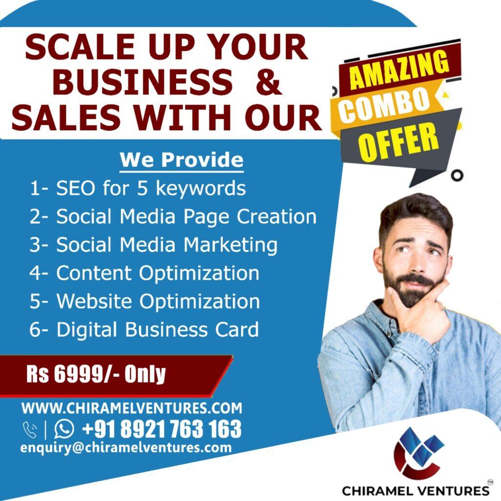 Digital Marketing Services - Chiramelventures