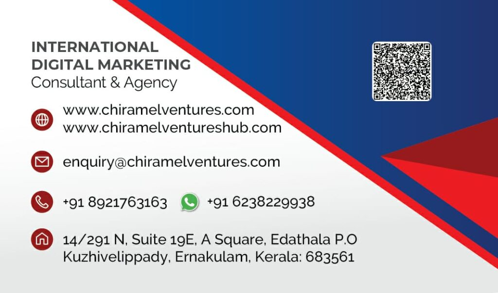 CHIRAMEL VENTURES - BEST DIGITAL MARKETING AGENCY IN KERALA, INDIA I