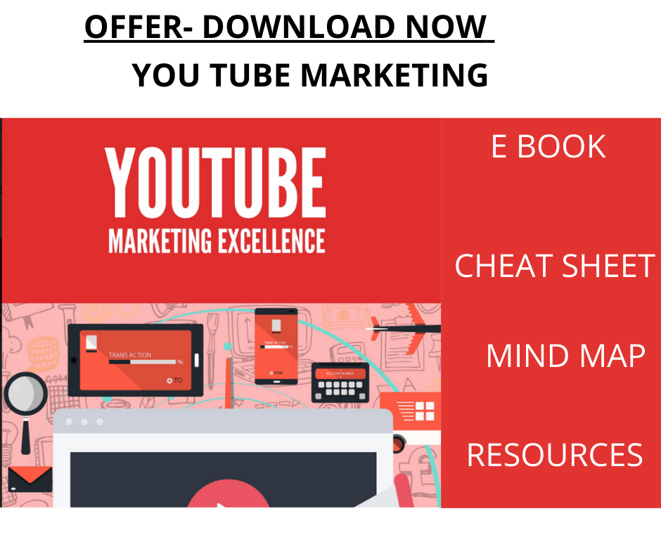 You Tube Marketing Excellence - offer