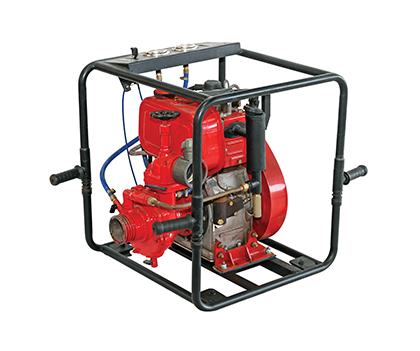LOW CAPACITY FIRE FIGHTING PUMP
