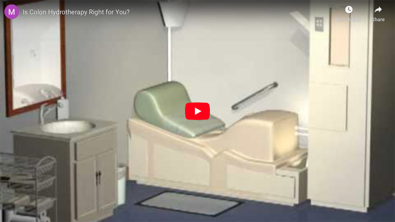 Colon Hydrotherapy Video