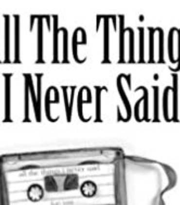 Book Review – All the Things I Never Said by Mae Krell