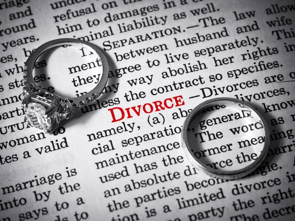 getting divorced