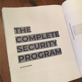 The Complete Church Security Program