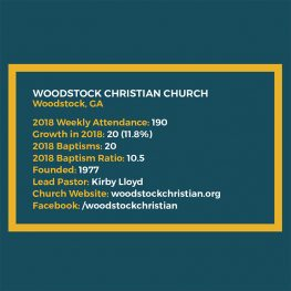 SPOTLIGHT: Woodstock Christian Church, Woodstock, Ga.