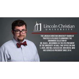 McCormick Announced as LCU's Next President