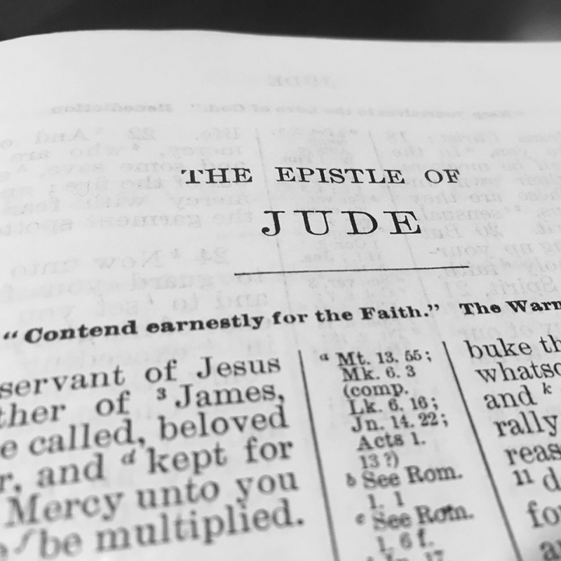 Lesson for Nov. 3, 2019: Persevere by Faith (Jude 3-7, 17-25)