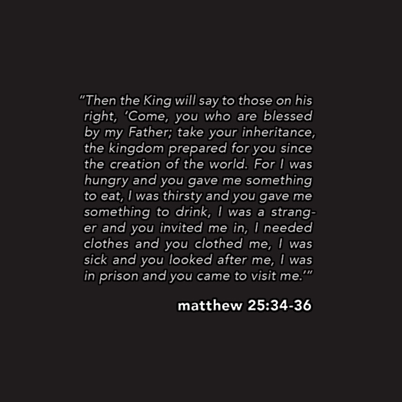 """Don't Lessen """"the Least of These"""" (Matthew 25:31-46)"""