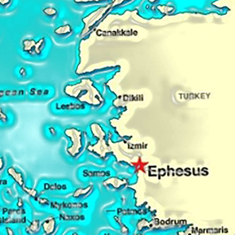 A WARNING FROM EPHESUS . . .  And Jesus' Solution for When a Church Loses Its First Love