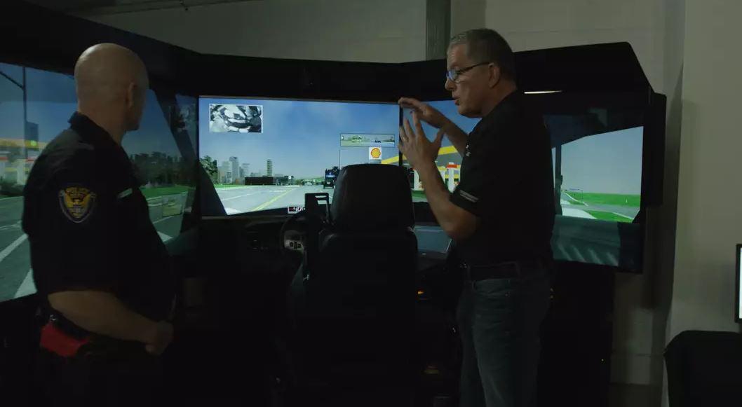 De-escalation and Controlling Speed – Simulation Training
