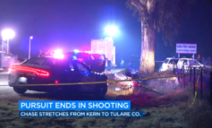 Traffic stop in Kern County turns into high-speed chase, shooting involving officer