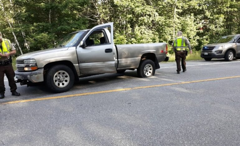 Teen girls lead police on 50-mile chase in stolen pickup before getting stopped in Rumford
