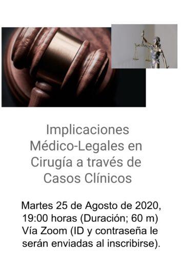 Implicaciones Médico-Legales