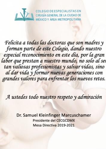 Felicidades! a todas aquellas madres y doctoras q aportan su amor y cariño