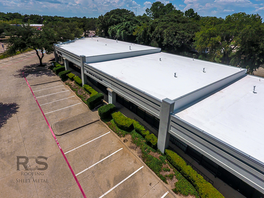 Commercial Roof Replacement - Denton, Texas