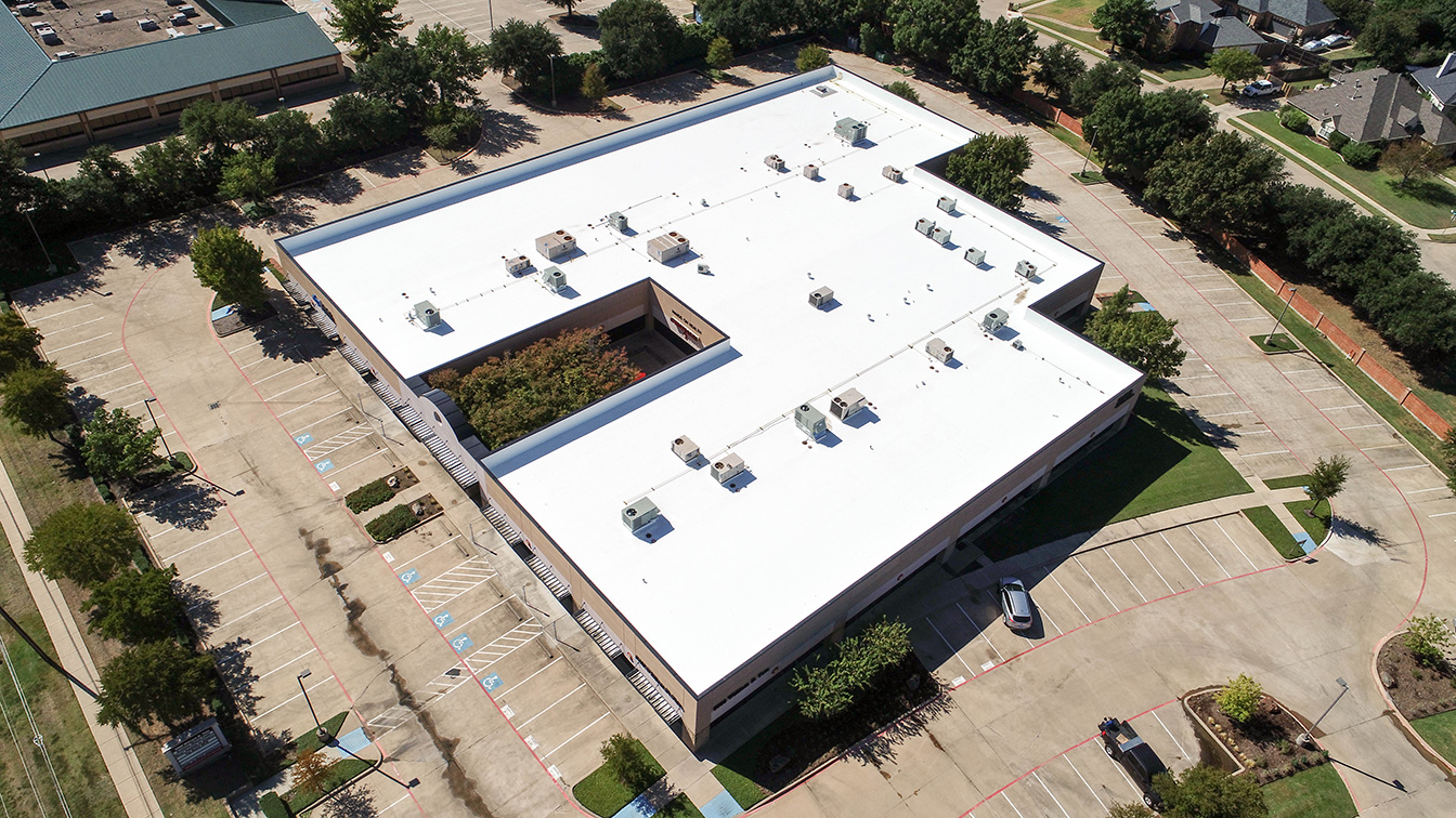 Commercial Roofing, Dallas, Texas