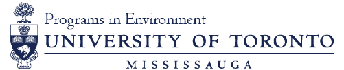 University of Toronto Mississauga - Programs in Environment Logo