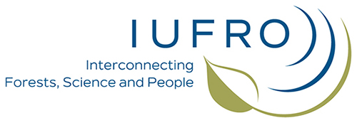 IUFRO Logo. Text reads: Interconnecting Forests, Science and People