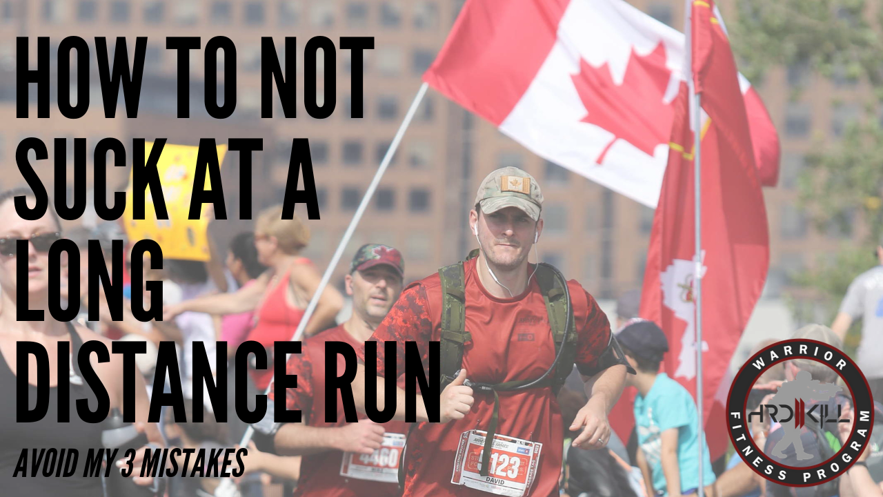 How To Not Suck At A Long Distance Run