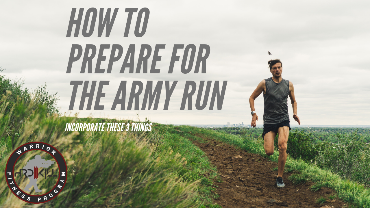 How To Prepare For The Army Run