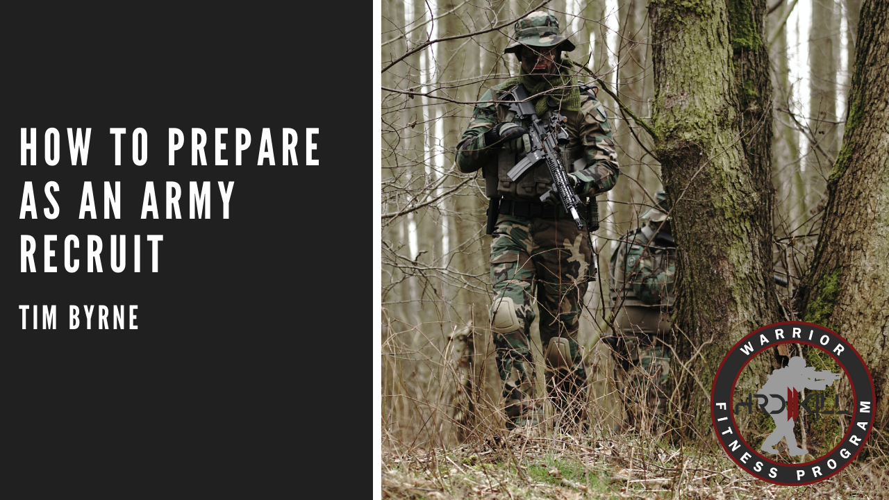 How To Prepare As An Army Recruit
