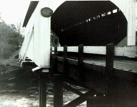 Old Wimer Covered Bridge