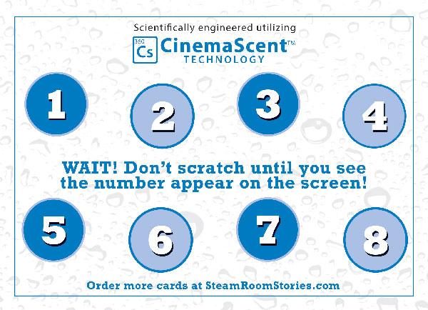 Scratch & Sniff CinemaScent Card