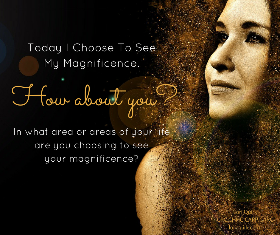 I Choose To See My Magnificence