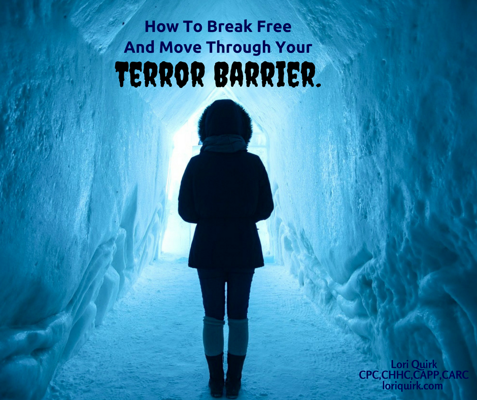 How To Break Free & Move Through Your Terror Barrier.