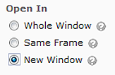 new Windows open URL in a new tab