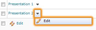 Edit Dropbox
