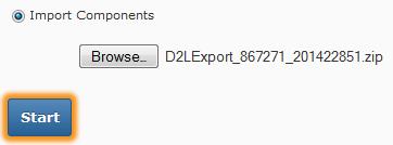 Start file import