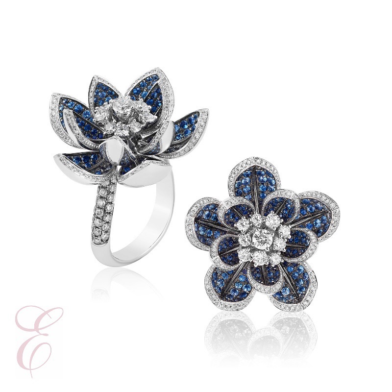 "Elyse Jewelers AGTA Spectrum Award Winner ""Flor de Verano"""