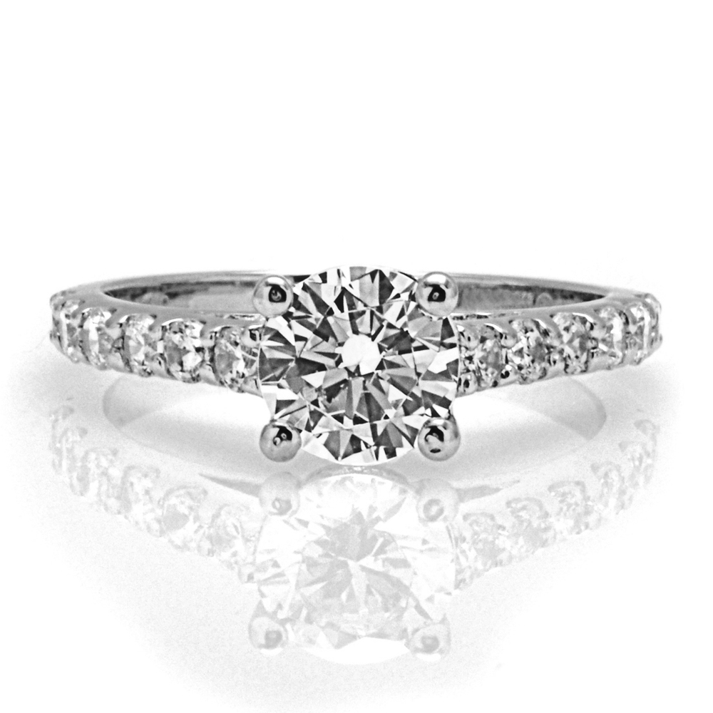 The Newbury Round Brilliant Engagement Ring Image