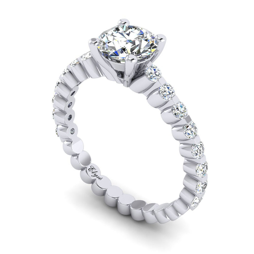 The Commonwealth Round Brilliant Engagement Ring Image