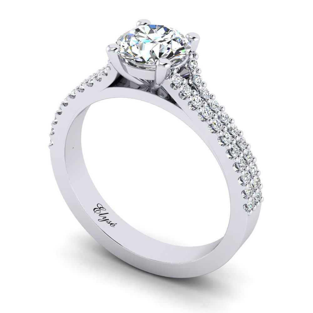 The Tremont Round Brilliant Engagement Ring Image