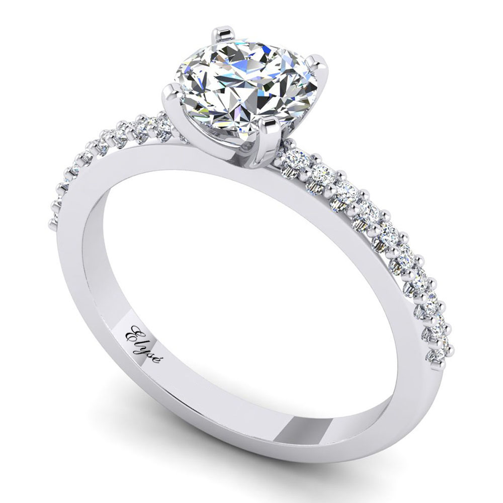 The Federal Round Brilliant Engagement Ring Image