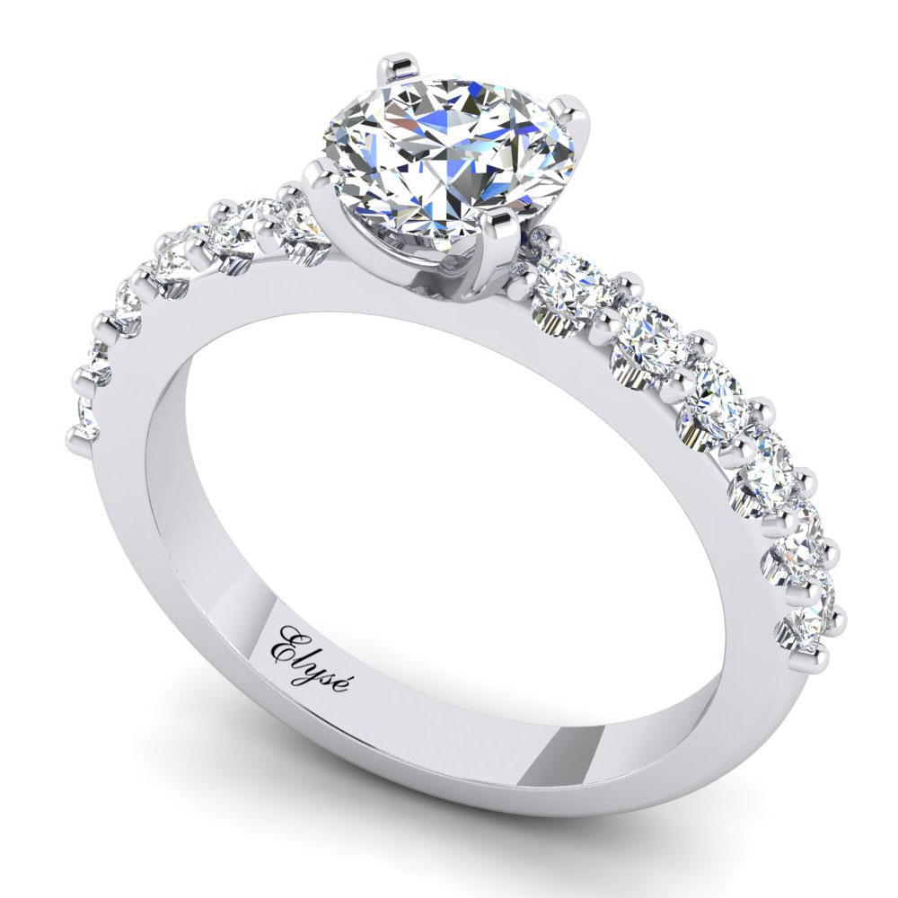 The Huntington Round Brilliant Engagement Ring Image