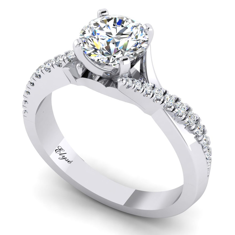 The Charles Round Brilliant Engagement Ring Image