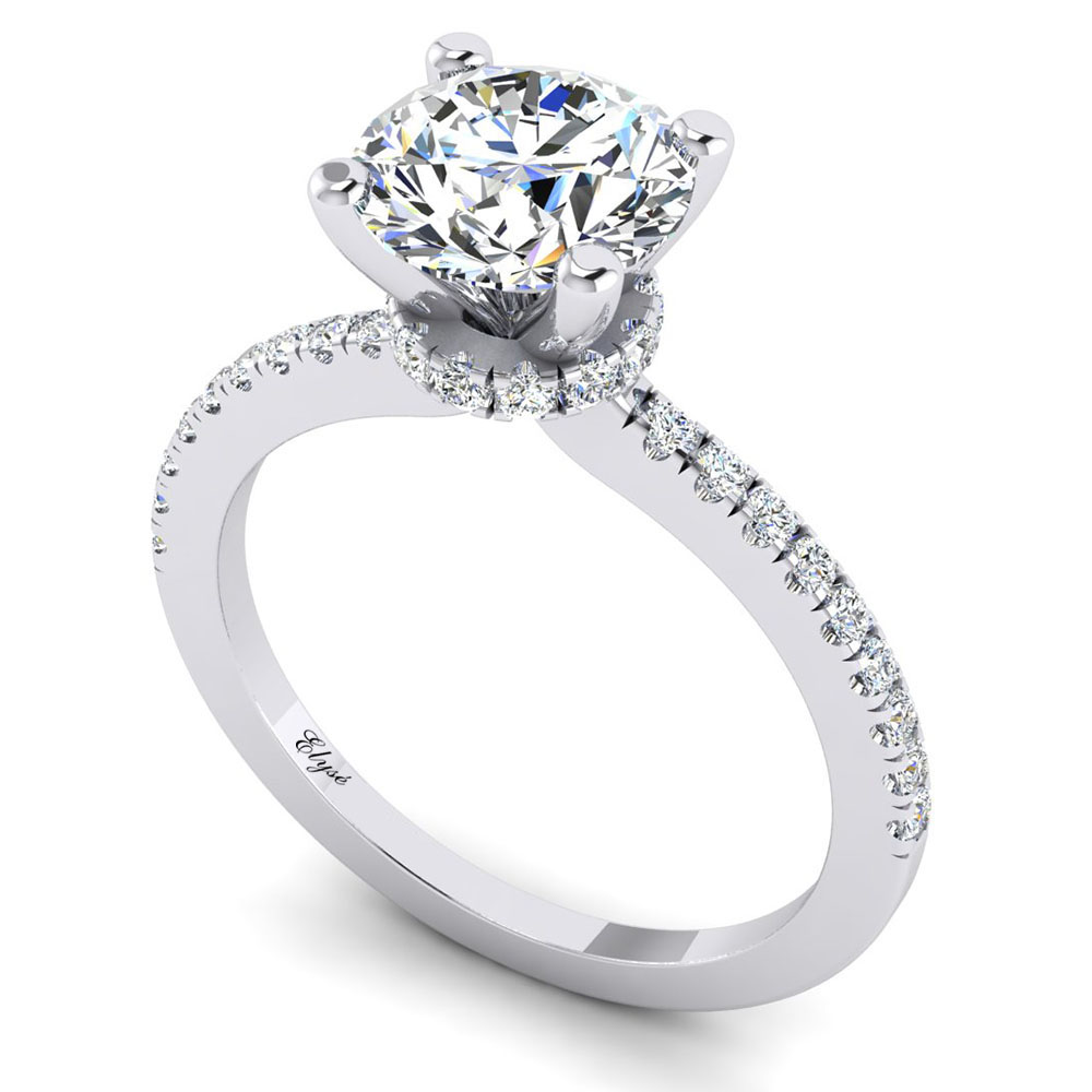 The Boylston Round Brilliant Engagement Ring Image