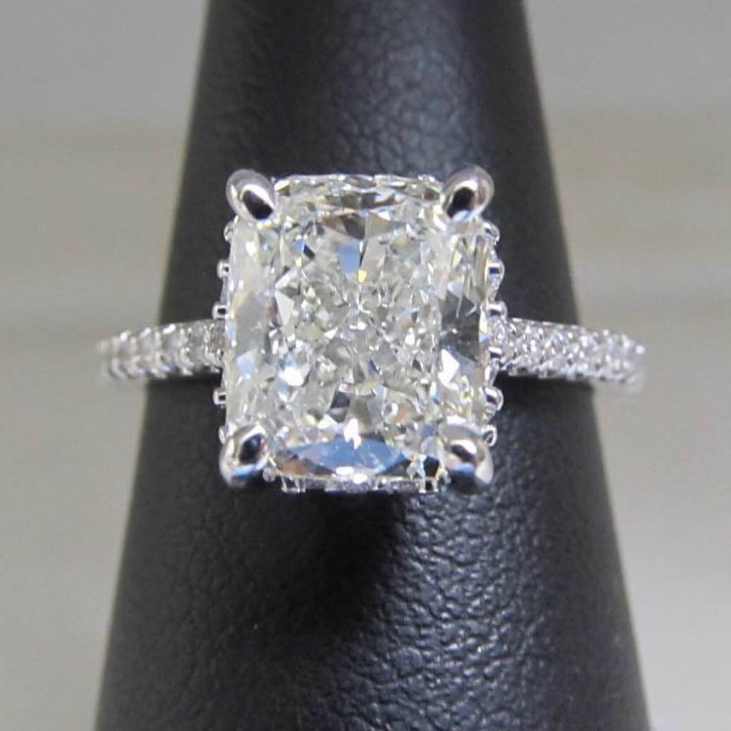The Fenway Cushion Cut Engagement Ring Image